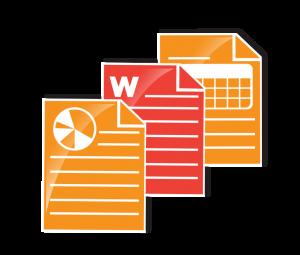 Data formats and e-attachments